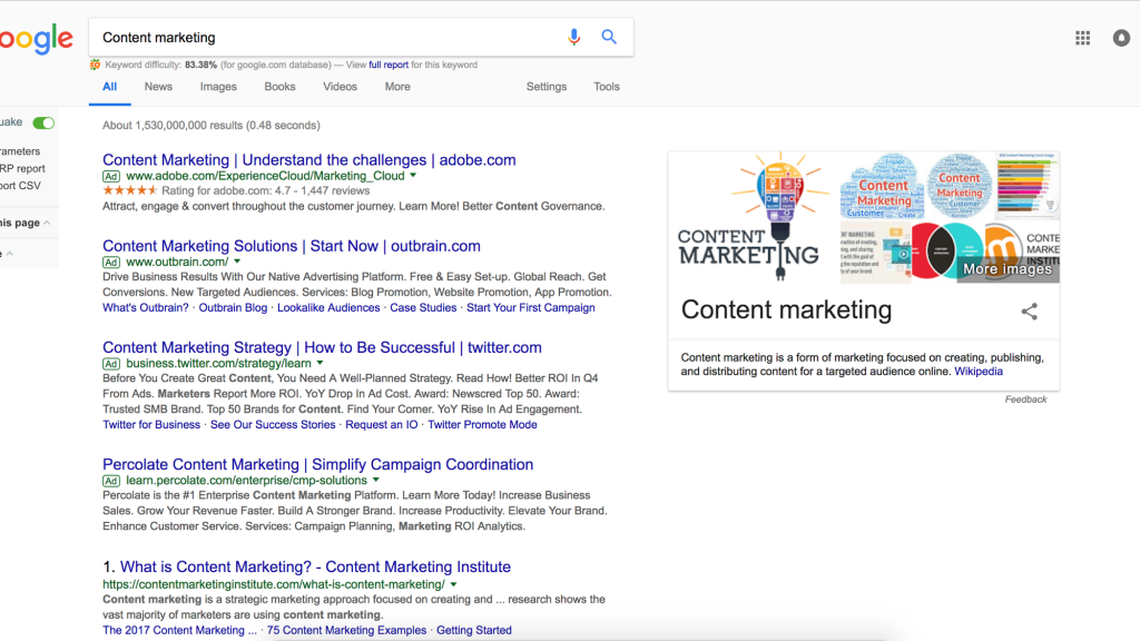 ContentMarketing Search